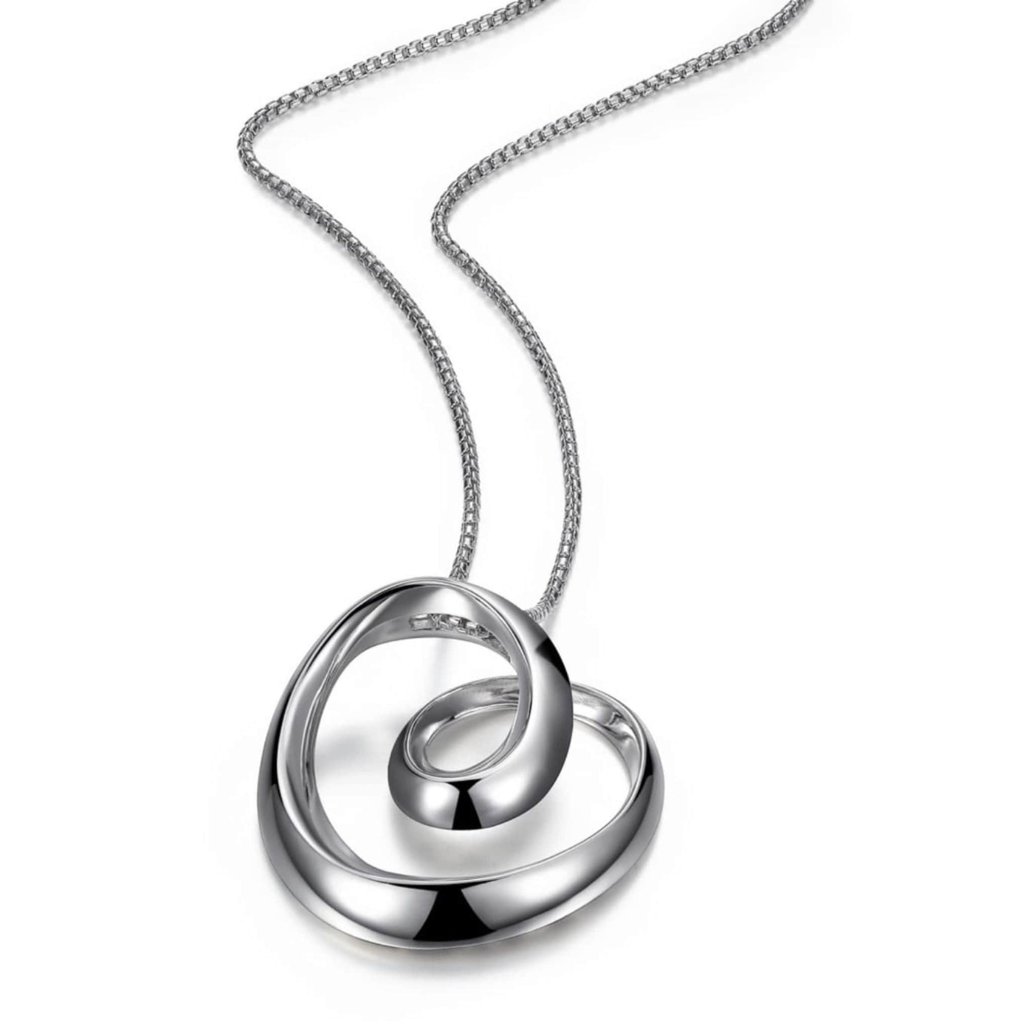ELLE Eternity Large Silver Necklace at Arman's Jewellers