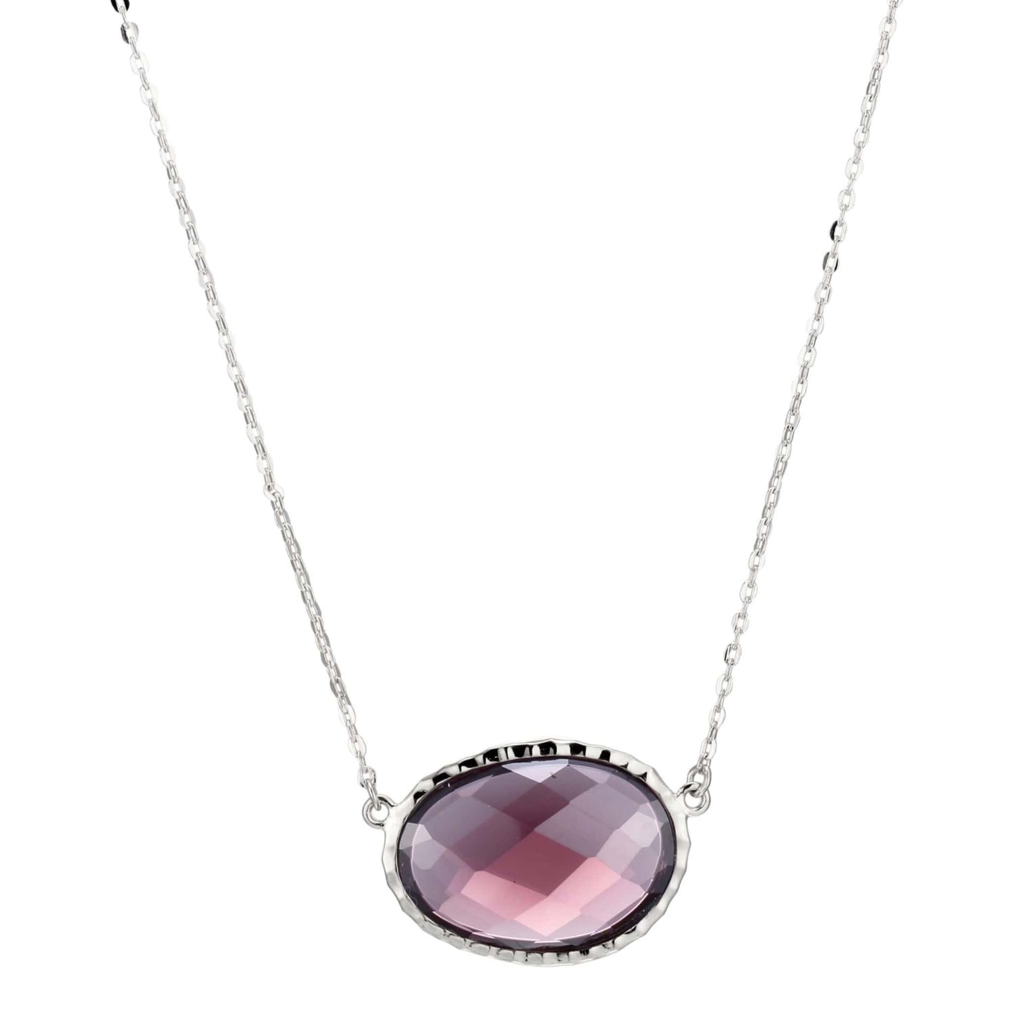 ELLE Fire & Ice Silver Necklace at Arman's Jewellers