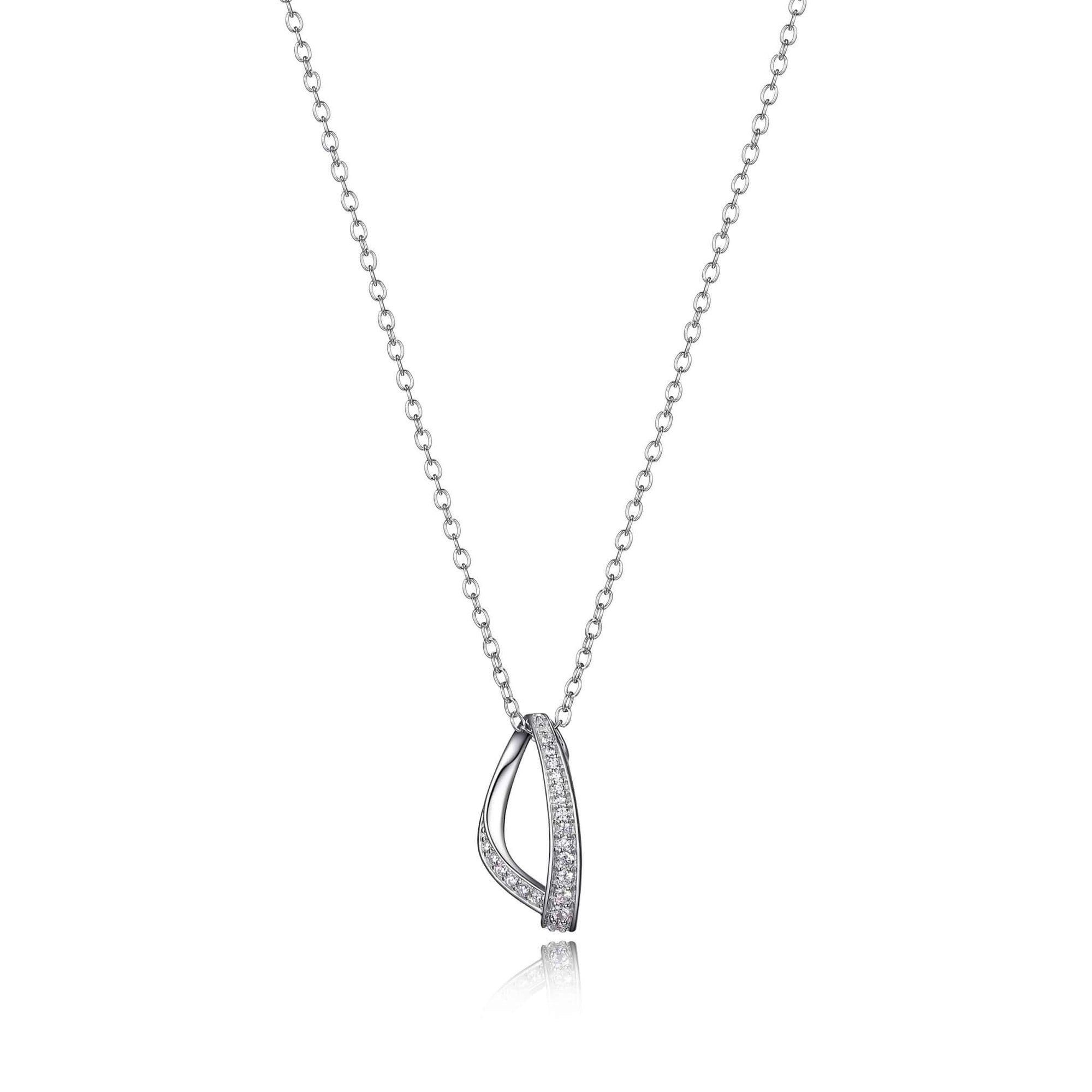 ELLE Scintillation Silver Necklace at Arman's Jewellers