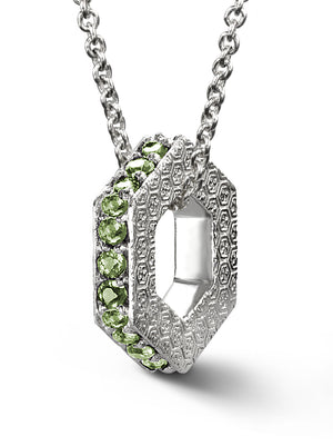 Bcouture August Keepsake-Peridot With Chain at Arman's Jewellers Kitchener