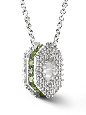 Bcouture August Mini Keepsake-Peridot With Chain at Arman's Jewellers Kitchener