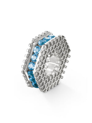 Bcouture December Mini Keepsake- Blue Topaz at Arman's Jewellers Kitchener