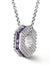 Bcouture February Mini Keepsake- Amethyst With Chain at Arman's Jewellers Kitchener