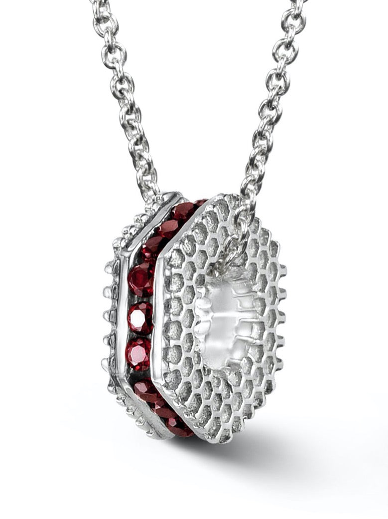 Bcouture January Mini Keepsake-Garnet at Arman's Jewellers Kitchener