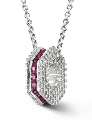 Bcouture July Mini Keepsake- Ruby With Chain at Arman's Jewellers Kitchener