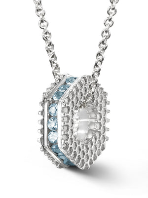 Bcouture March Mini Keepsake- Aquamarine With Chain at Arman's Jewellers Kitchener