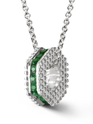 Bcouture May Mini Keepsake- Emerald With Chain at Arman's Jewellers Kitchener