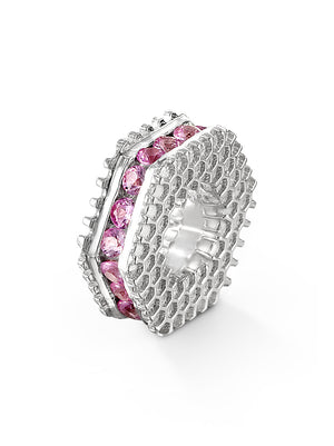 Bcouture October Mini Keepsake- Pink Sapphire at Arman's Jewellers Kitchener