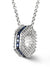 Bcouture September Mini Keepsake- Sapphire With Chain at Arman's Jewellers Kitchener