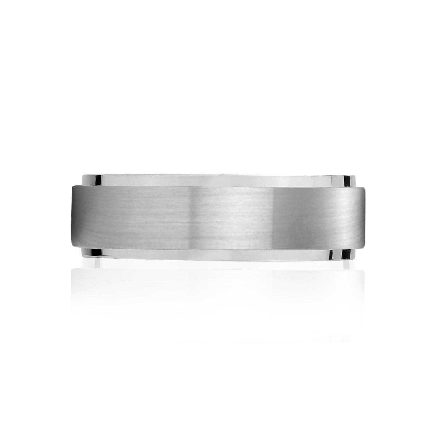 Men's 7mm Steel Band at Arman's Jewellers Kitchener