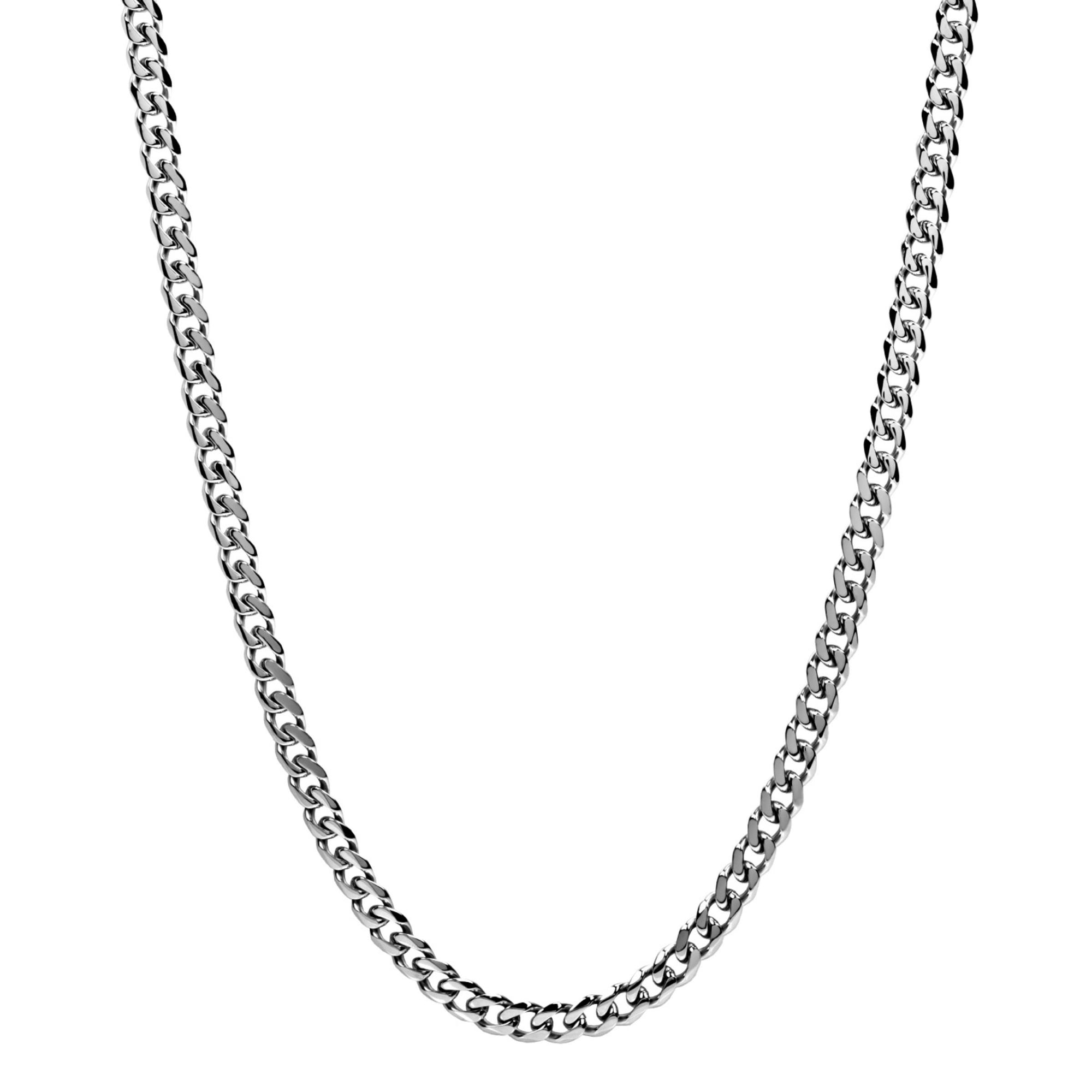 Men's 8mm Men's Steel Cuban Link Chain Necklace at Arman's Jewellers Kitchener