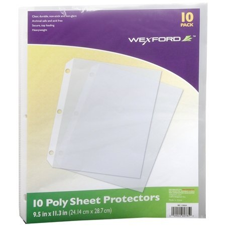 Wexford Poly Sheet Protectors