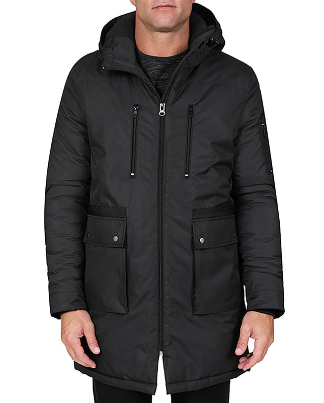 Long Hooded Parka