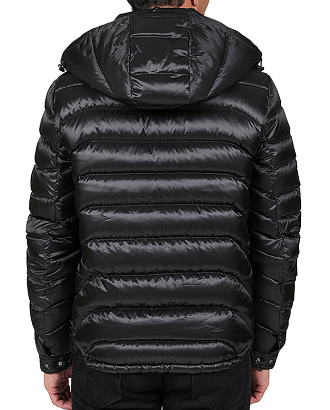 Lightweight Hooded Quilt Down Jacket