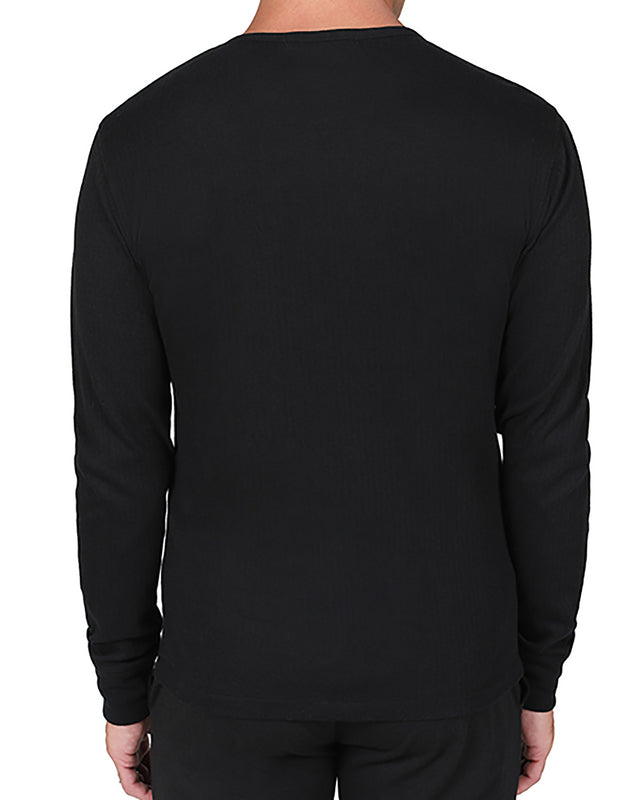 Long Sleeve Rib Crew