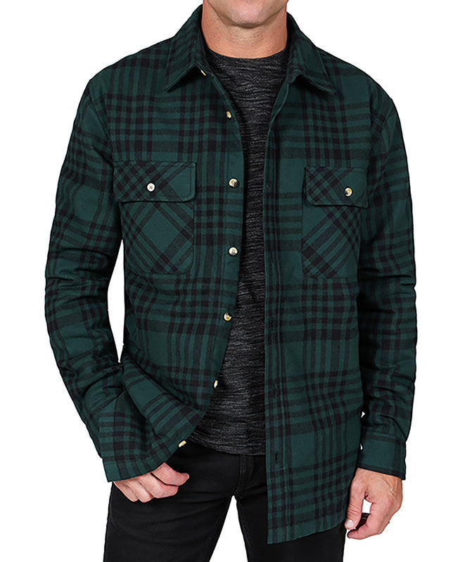 Sherpa Lined Shirt Jacket