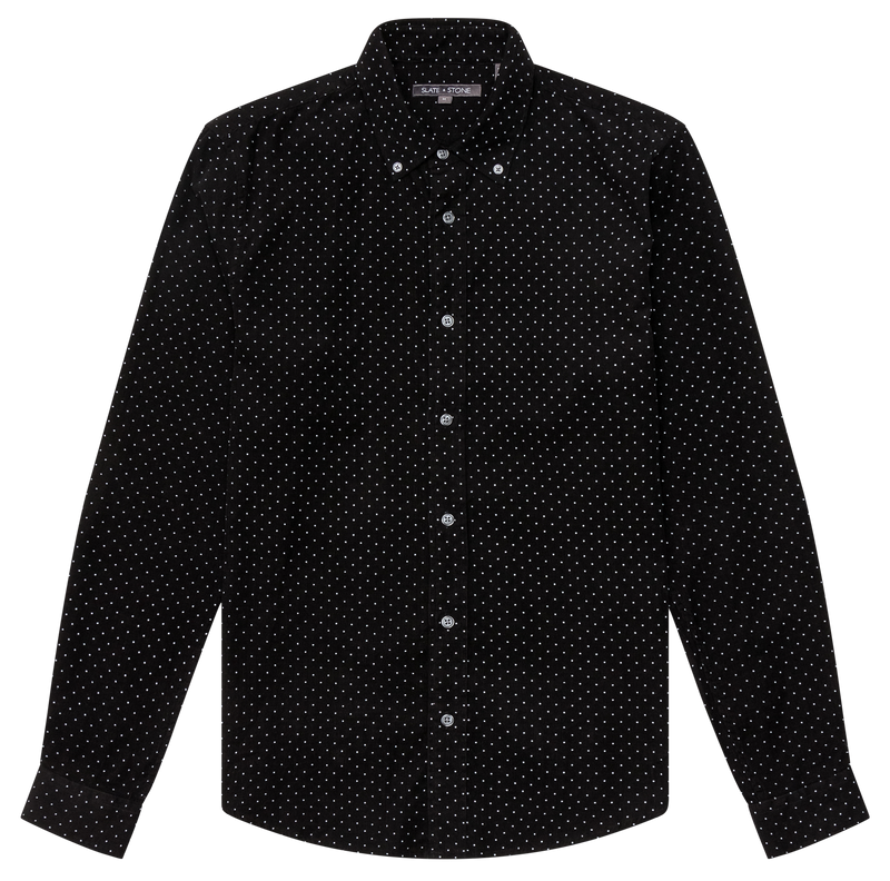 Corduroy Button Down Collar Shirt