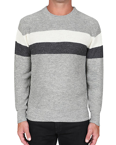 Colorblock Crew Sweater