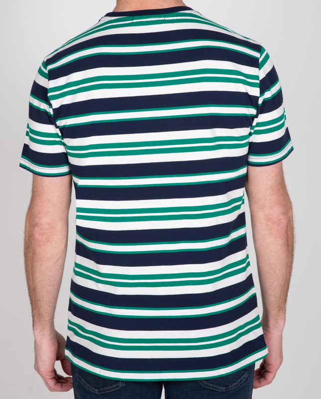 Short Sleeve Stripe Crew