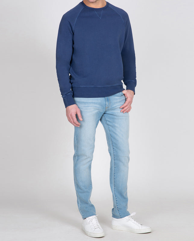 Indigo Long Sleeve Sweatshirt