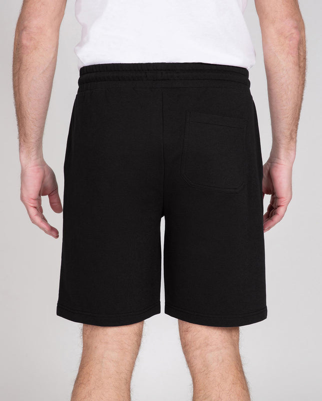 Elastic Waist Relaxed Shorts