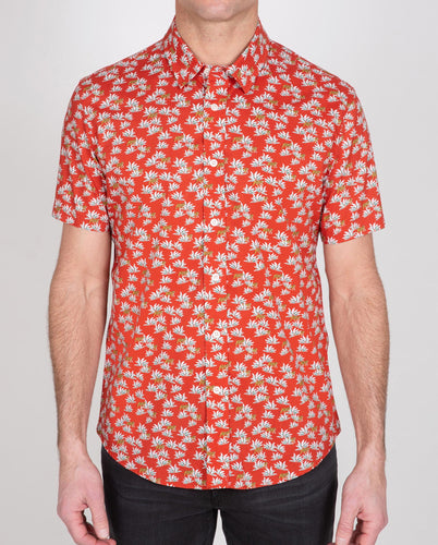 Novelty Poplin Short Sleeve Shirt
