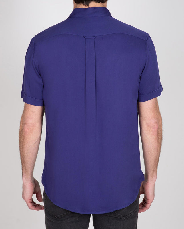 Viscose Short Sleeve Popover