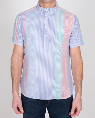 Novelty Poplin Short Sleeve Popover