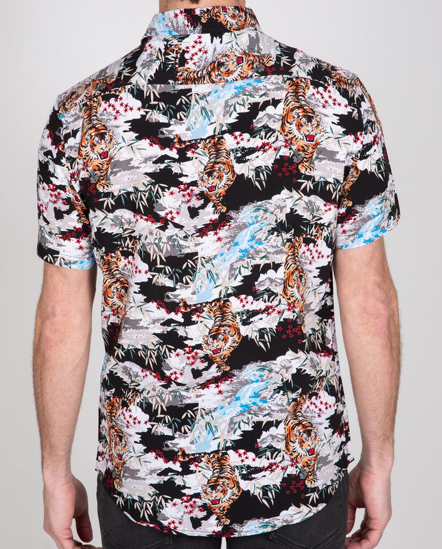 Novelty Viscose Short Sleeve Shirt