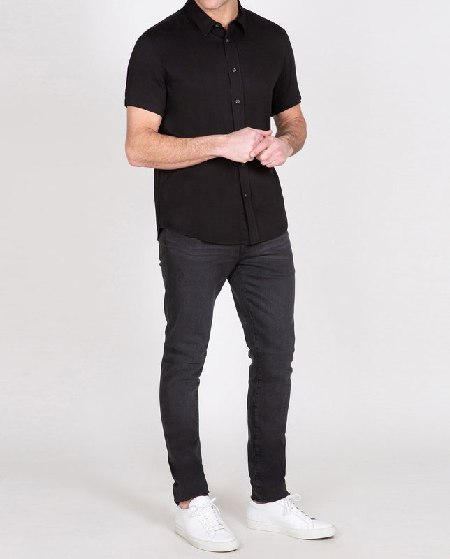 Viscose Short Sleeve Shirt