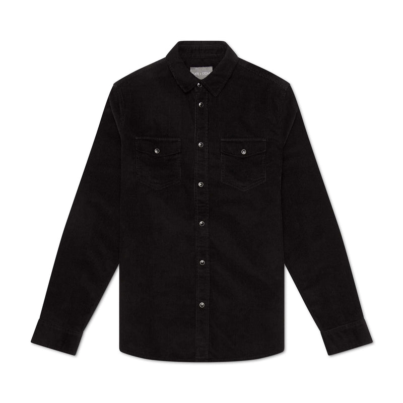 Corduroy Snap Front Shirt