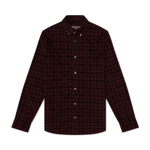 Button Down Collar Corduroy Shirt