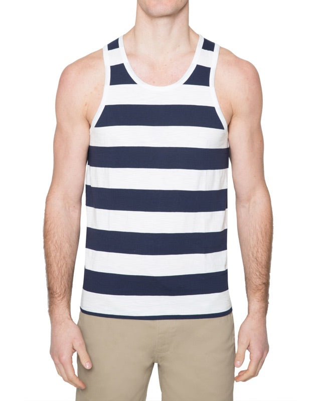 Rugby Stripe Tank