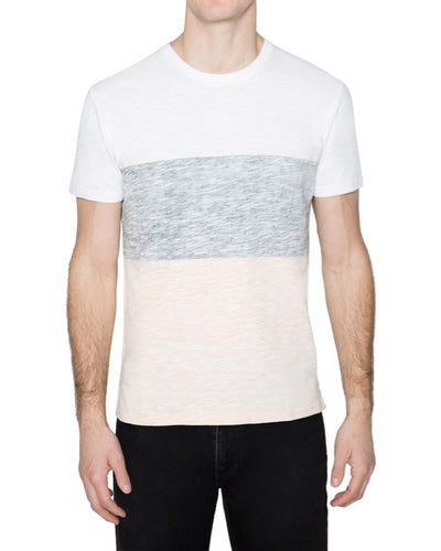 Washed Colorblock Tee