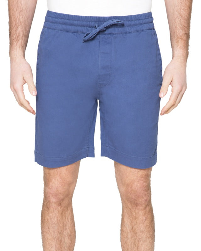 Stretch Cotton Pull-on Shorts