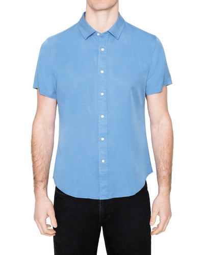 Washed Tencel Short Sleeve Shirt