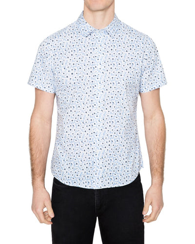 Washed Poplin Short Sleeve Shirt