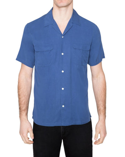 Washed Tencel Camp Shirt