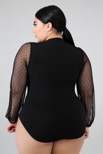 Load image into Gallery viewer, Night Cap bodysuit (PLUSSIZE)