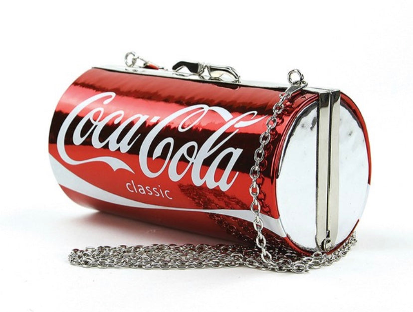 Coca cola clutch bag