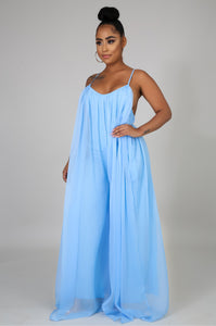 Blue Goddess Jumpsuit