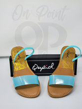 Load image into Gallery viewer, Turquoise sandals