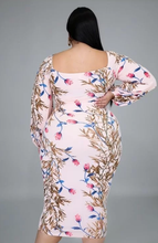 Load image into Gallery viewer, A Day In Spring Dress (plus size)