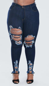 Destress jeans (plus size)