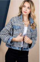Load image into Gallery viewer, Sequin denim jacket