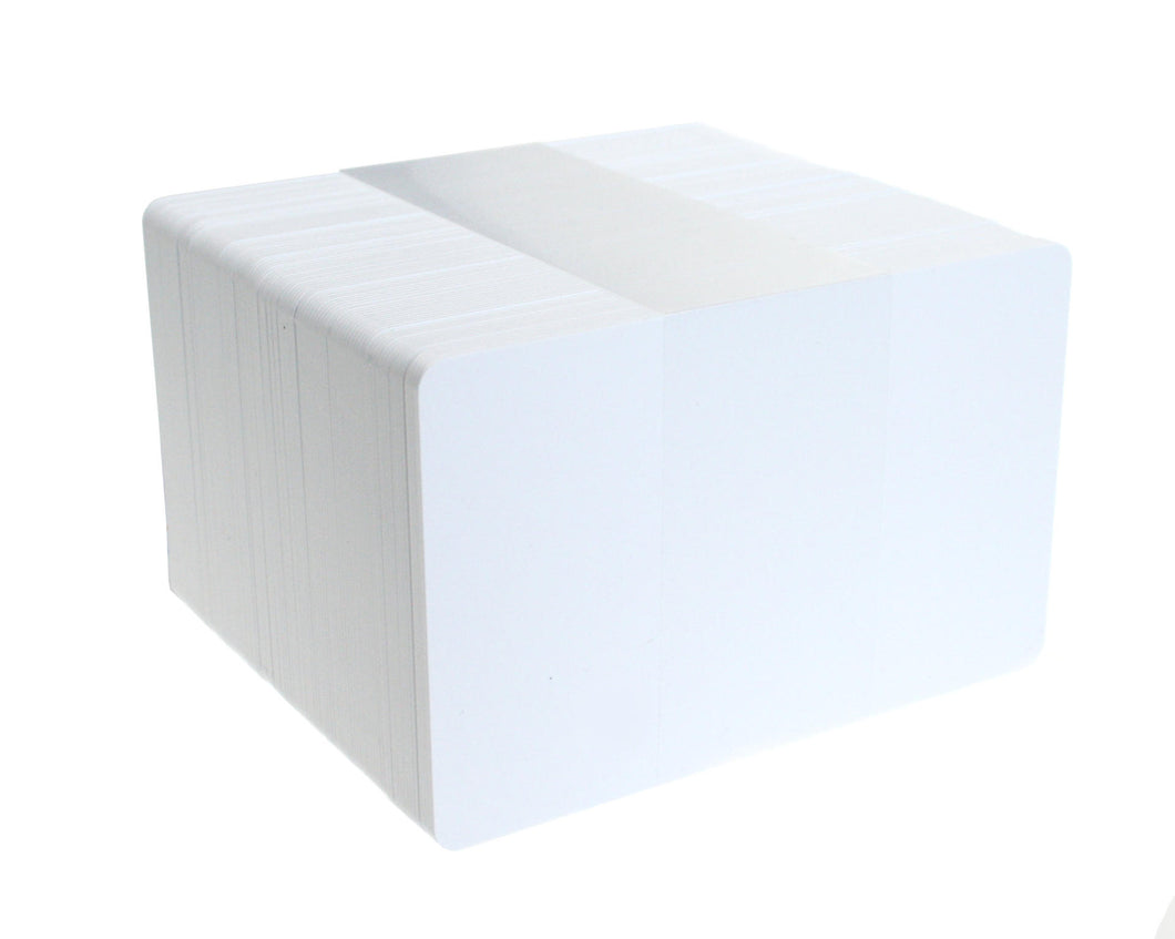 Blank White PVC Cards 0.76mm