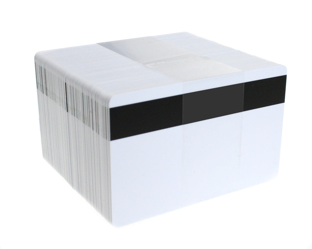 Blank White HiCo PVC Cards 0.76mm