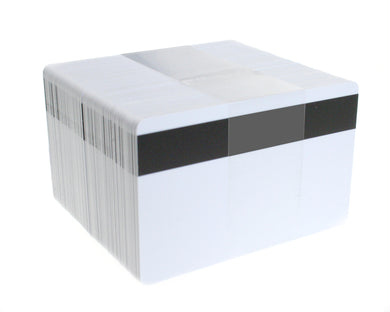 Blank White LoCo PVC Cards 0.76mm