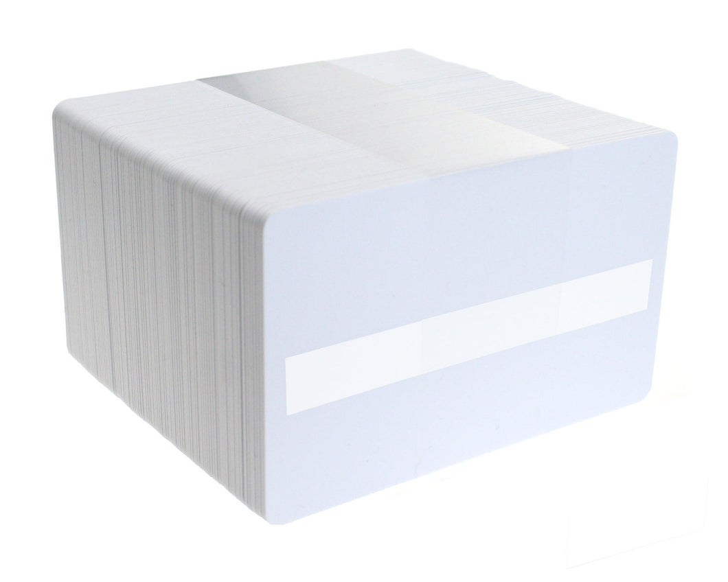 Blank White PVC Cards with Signature Panel