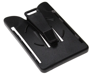 OPEN FACE CARD HOLDER WITH SWIVEL CLIP